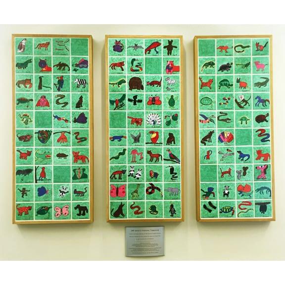4.25x4.25 Satin Tiles 2