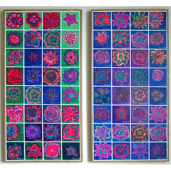 4.25x4.25 Satin Tiles 3
