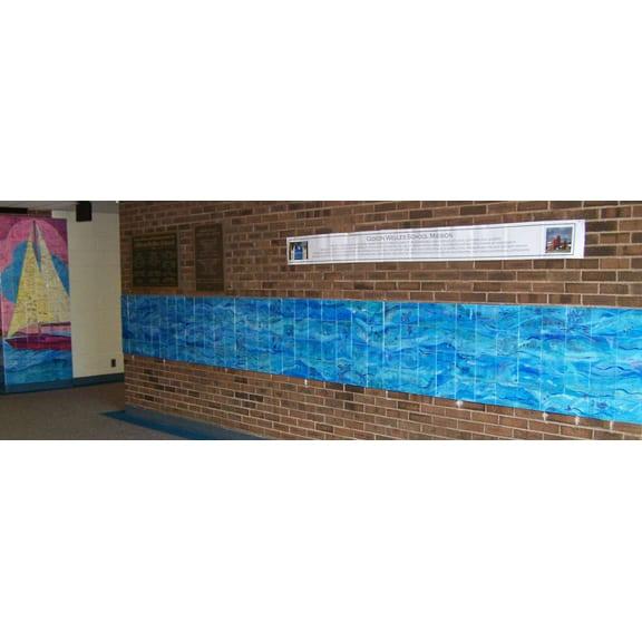 School Tile Fundraiser Wall Tile Art For Schools