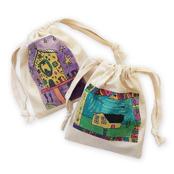 mini bag: an art fundraiser product