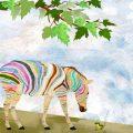 Dreaming Zebra