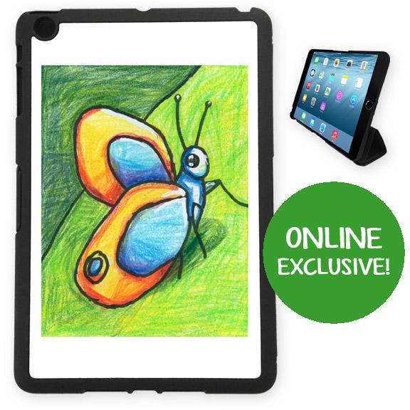 iPad mini cover: an art fundraiser product