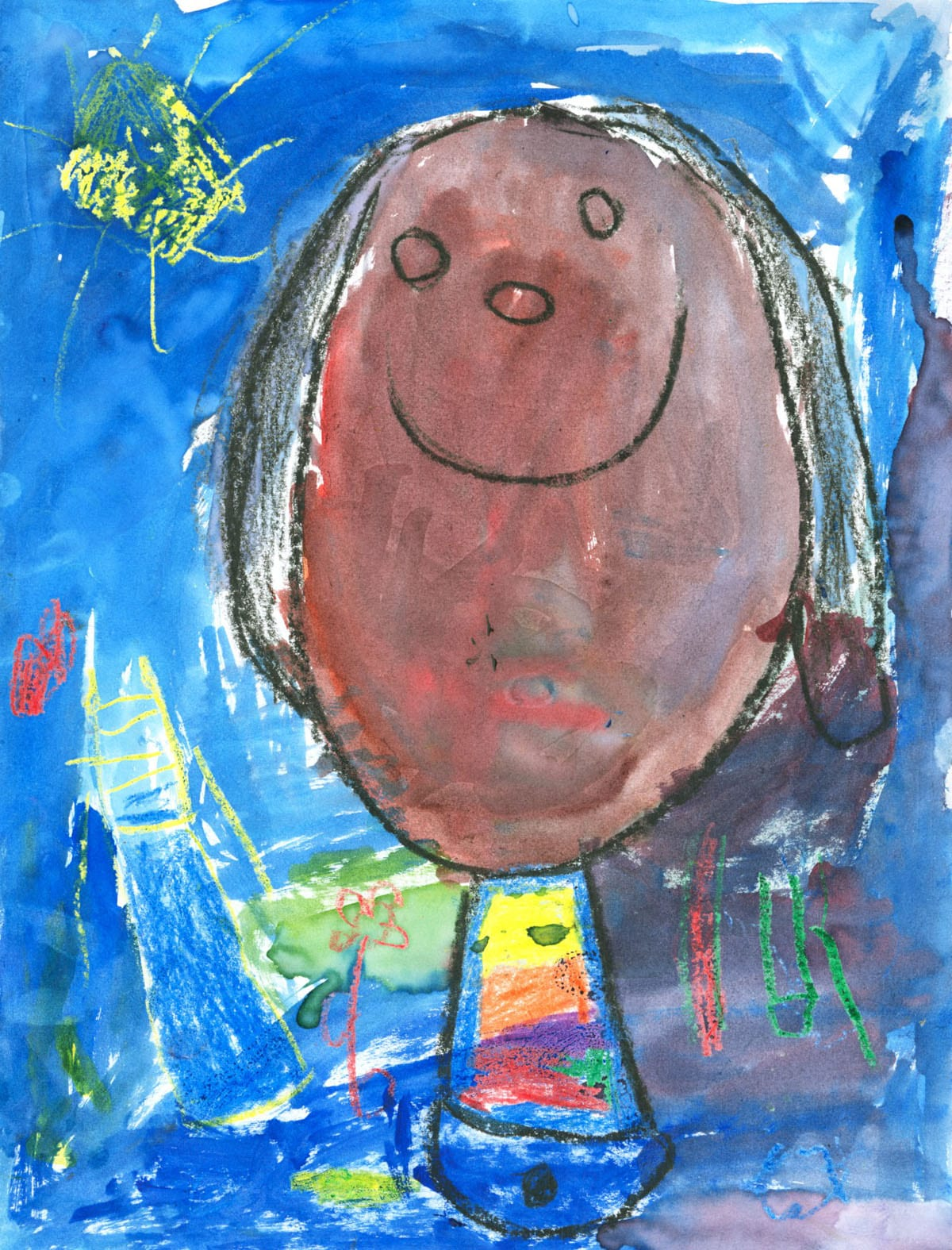 Self Portraits Artwork by Addison from Eagle Point Elementary