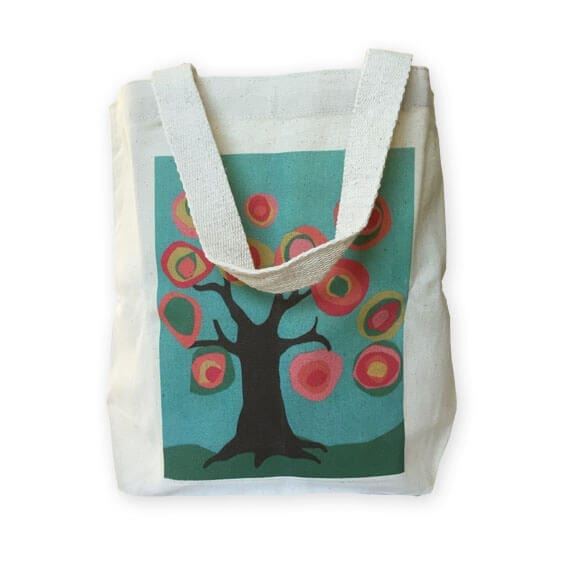 book tote: an art fundraiser product