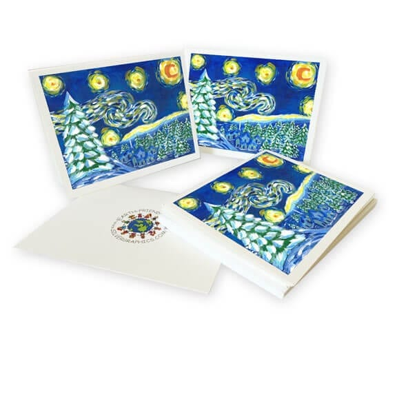 eco cards: an art fundraiser product