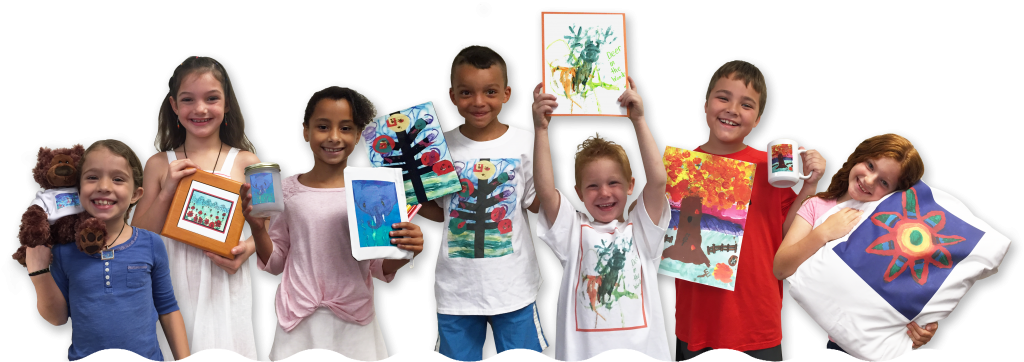 Kids with Preview Art Fundraiser Products