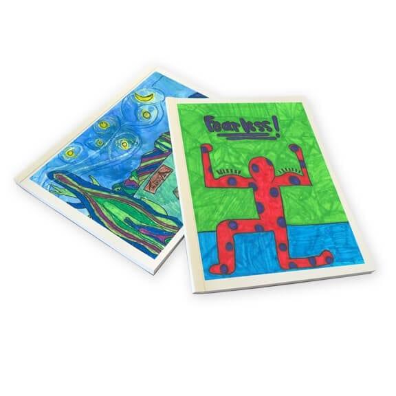 sketch book:: an art fundraiser product
