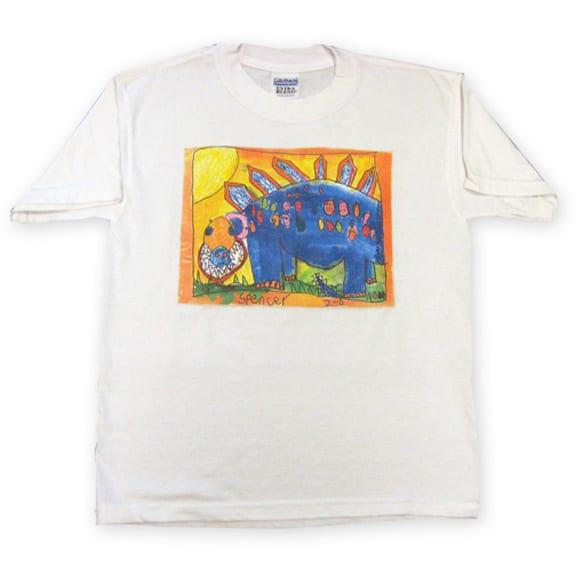 t-shirt: an art fundraiser product
