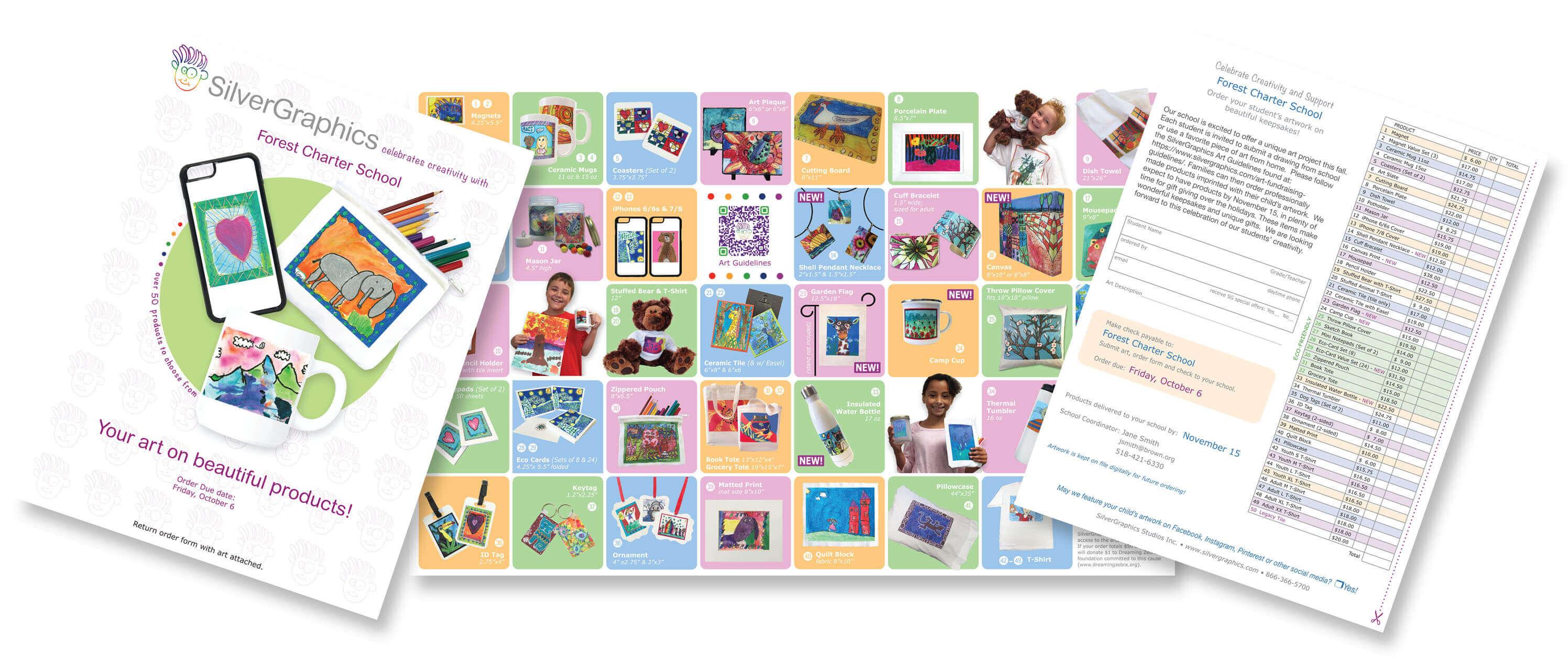 Art Fundraiser Brochures